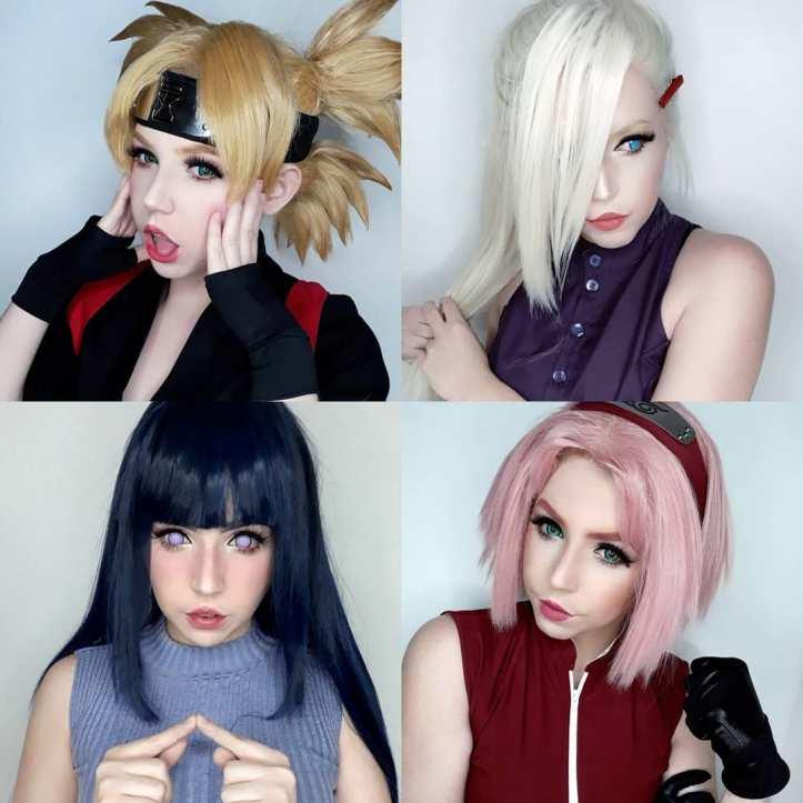 Alguns cosplays da Alexy